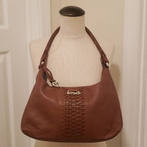 Brighton tan leather bag